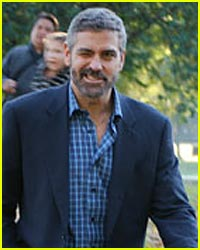 George Clooney With a Wink