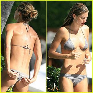 Gisele Bundchen Bikini Pictures -- Part Deux