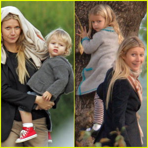 Gwyneth's Playdate in the Park