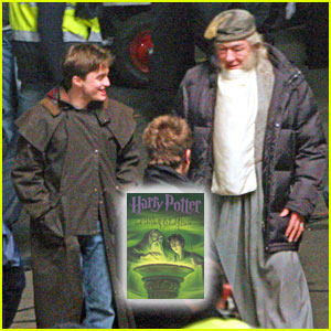 'Harry Potter and the Half-Blood Prince' Movie Set -- FIRST PICTURES