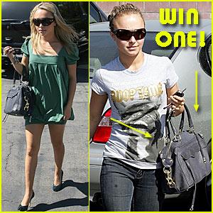 Win Hayden's Rebecca Minkoff Handbag