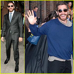 Jake Gyllenhaal @ Letterman
