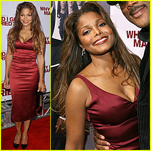 Janet Jackson @ 'Why Did I Get Married?' Premiere