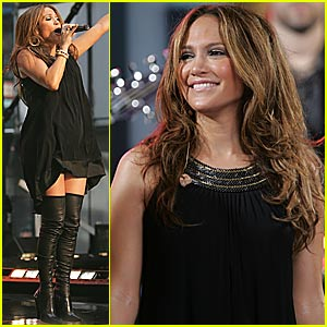 Jennifer Lopez @ Good Morning America