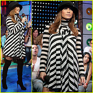 Jennifer Lopez @ TRL