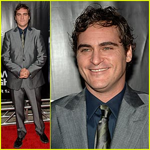 Joaquin Phoenix @ 'We Own the Night' Premiere