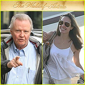 Jon Voight and Angelina Jolie on the Mends?