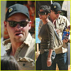 Justin Chambers Goes Pumpkin Picking