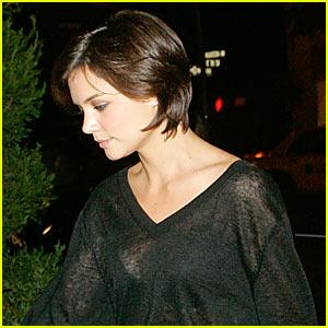Katie Holmes' Sheer Top