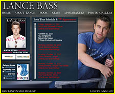 Lance Bass Launches Official Website
