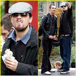 DiCaprio Does Paris