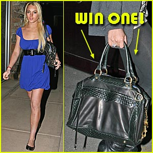 Win Lindsay's Rebecca Minkoff Handbag