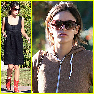 Rachel Bilson is a Gas Girl
