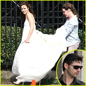 Rachel McAdams' Wedding Dress