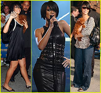 Rihanna @ Letterman