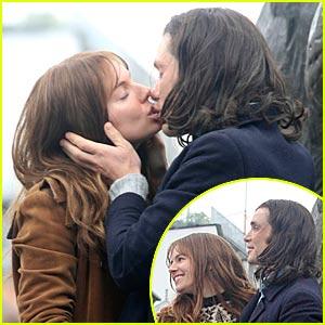Sienna Miller & Cillian Murphy... KISSING!