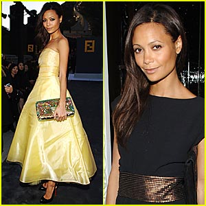 Thandie Newton @ Great Wall of China