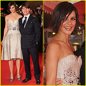 Tom and Katie @ 'Lions for Lambs' Premiere