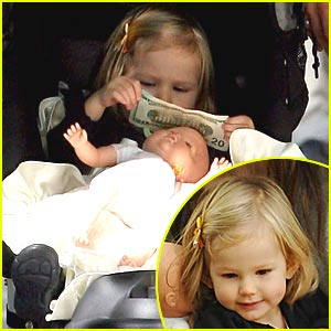 Violet Affleck is a $20 Dollar Bill Baby