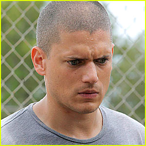 Wentworth Miller is Sweating Bullets