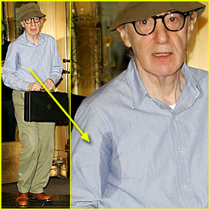 Woody Allen's Armpit Stains
