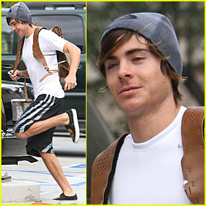 Zac Efron is a Sprinter