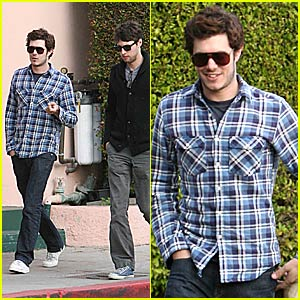 Adam Brody is Mad For Plaid