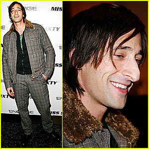 Adrien Brody is Full of Energie