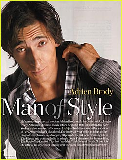 Adrien Brody: InStyle's Man of Style
