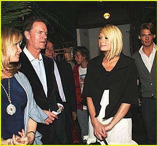 Paris Hilton to Alex Vaggo: Meets the Parents!