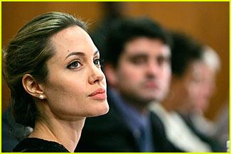 Angelina Jolie Pens 'Economist' Article