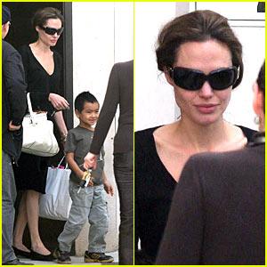 Angelina's Sunday Son Bonding