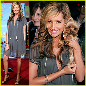Ashley Tisdale @ 'High School Musical 2' DVD Release