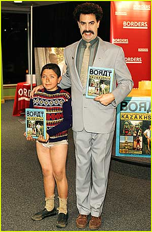 Borat's Book Signing @ Borders