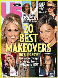 Celebrity Makeovers: From Carrie to Katie