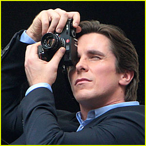 Christian Bale is The Dark Knight
