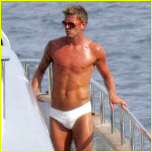 David Beckham is an Armani Underwear Model