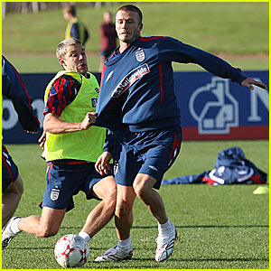 David Beckham Should Strip to His Skivvies
