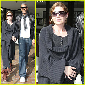 Ellen Pompeo's Newly Wedded Bliss