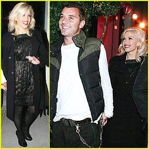 Gwen Stefani Parties With Juicy Couture