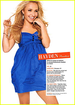 Hayden Panettiere is a Fashion 'Hero'