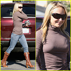Hayden Panettiere is a Turtleneck Tease
