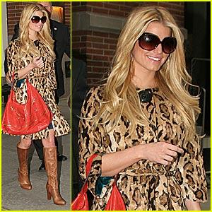Jessica Simpson is Luscious in Leopard