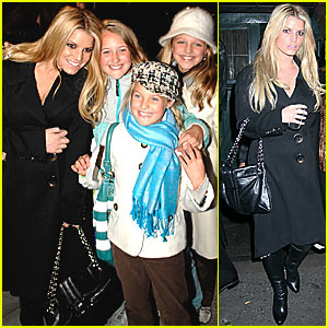 Jessica Simpson @ Waverly Inn