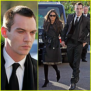 Jonathan Rhys Meyers @ Mother's Funeral