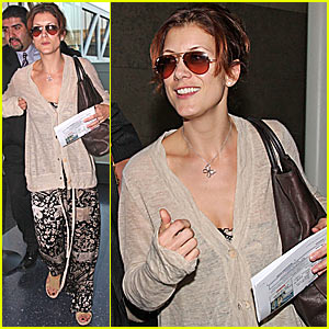 Thanksgiving with Kate Walsh