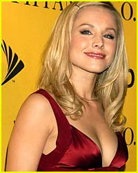 Kristen Bell is One Red Hot Tamale