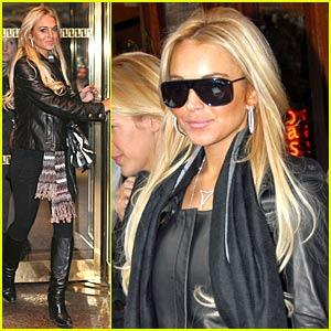 Lindsay Lohan's Thanksgiving Holiday