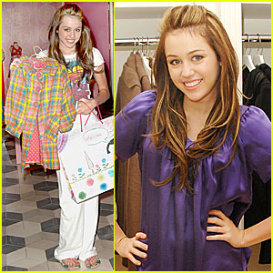 Miley Cyrus Goes Switch Shopping