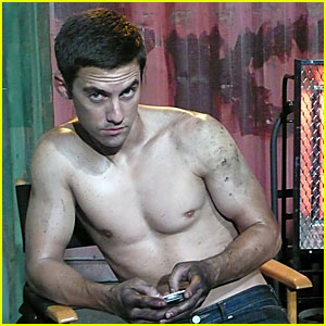 Milo Ventimiglia's Shirtless Cycle